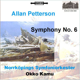 Pettersson: Symphony No. 6 - Norrköpings Symfonieorkester/Okko Kamu   Music   Classical