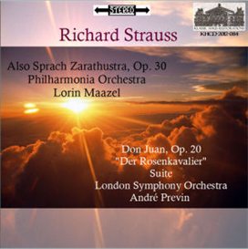 Strauss: Also Sprach Zarathustra/Don Juan/Der Rosenkavalier Suite - Maazel/Previn | Music | Classical