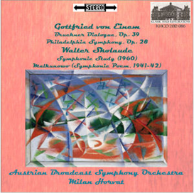 Works by von Einem and Skolaude - Austrian Broadcast Symphony Orchestra/Milan Horvat | Music | Classical