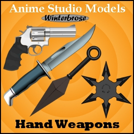 anime studio: hand weapons