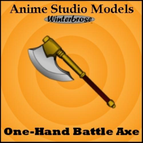 First Additional product image for - Anime Studio:  Axe Weapons