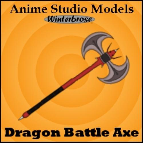 Second Additional product image for - Anime Studio:  Axe Weapons