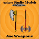 Anime Studio:  Axe Weapons | Photos and Images | Clip Art