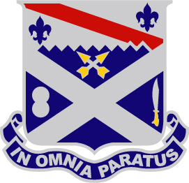 18th infantry regiment - in omnia paratus -