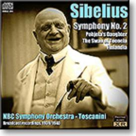 TOSCANINI conducts Sibelius Symphony No 2, Three Tone Poems, mono 16-bit FLAC | Music | Classical