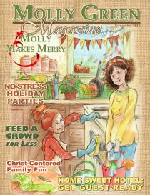 Molly Green Magazine: Molly Makes Merry