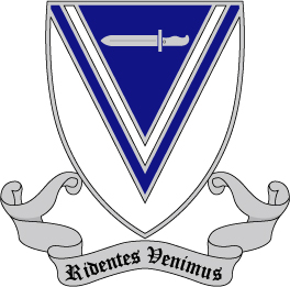 33rd Infantry Regiment - Ridentes Venimus - Smiling We Come AI File [2832] | Other Files | Graphics