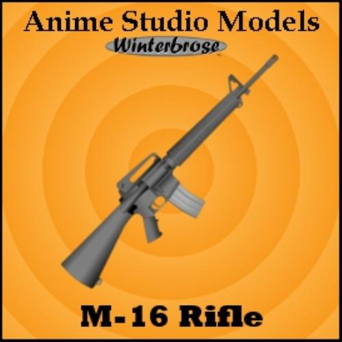 Second Additional product image for - Anime Studio:  Rifle Weapons