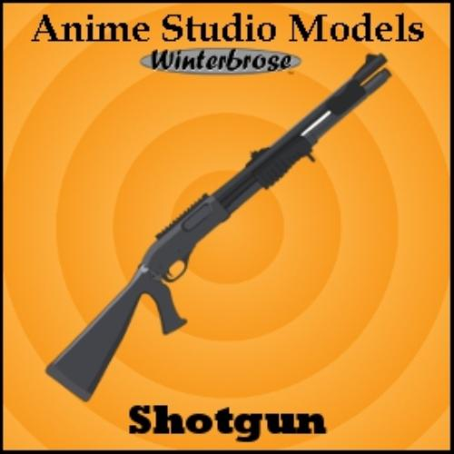 Third Additional product image for - Anime Studio:  Rifle Weapons