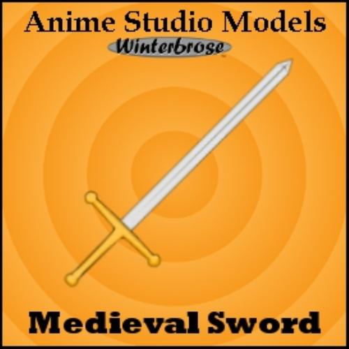 First Additional product image for - Anime Studio:  Sword Weapons