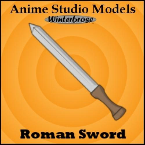 Second Additional product image for - Anime Studio:  Sword Weapons