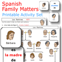 Spanish Family Matters printable activity set | eBooks | Education
