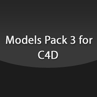 Models Pack 3 for C4D