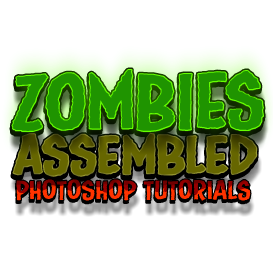 Zombies Assembled - Photoshop Tutorial | Movies and Videos | Educational