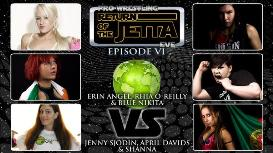 Blue Nikita & Rhia O Reilly & Erin Angel vs Jenny Sjodin & April Davids & Shanna | Movies and Videos | Sports