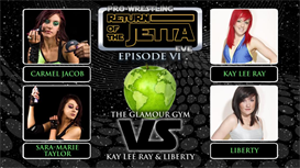 Kay Lee Ray & Liberty vs The Glamour Gym | Movies and Videos | Sports