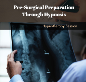 pre-surgical preparation through hypnosis with don l price
