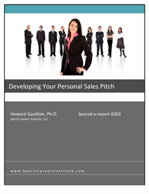 Download the Education eBooks | Developing Your Personal Sales Pitch