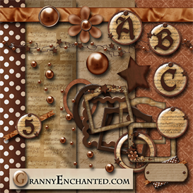 Granny Enchanteds Rusty Music Kit