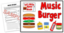 Music Burger Kit | Other Files | Patterns and Templates