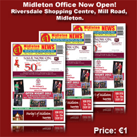 Midleton News November 14th 2012 | eBooks | Periodicals