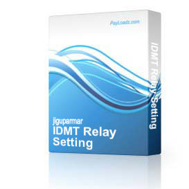IDMT Relay Setting & Curves