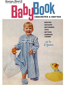 baby book crocheted & knitted - adobe .pdf format