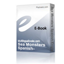 Sea Monsters Spanish-English plus Coloring Book | eBooks | Foreign
