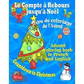 Le compte à rebours jusqu'à Noël, livre de coloriage de l'Avent | eBooks | Children's eBooks