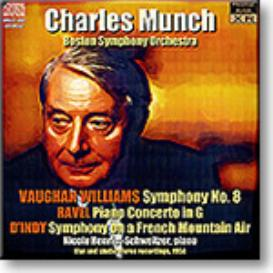 MUNCH conducts Vaughan Williams, Ravel and d'Indy, Stereo MP3 | Music | Classical