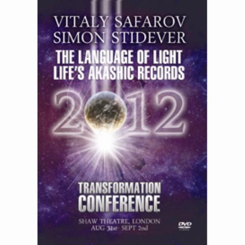 First Additional product image for - Vitaly Stafrov & Simon Stidever - The Language Of Light Life's Akashic Records Transformation 2012 LONDON MP4 Video