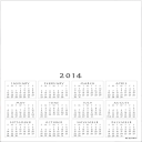 FREE 2015 CALENDAR blank, printable PDF | Documents and Forms | Templates