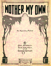 mother my own sheet music