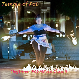 Poi Fire Dancing Lesson: Beginner Moves Class 4 Review Videos | Movies and Videos | Educational