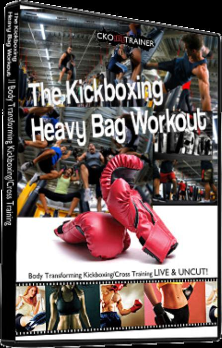 Third Additional product image for - Kickboxing Heavy Bag Workout - Attack! Attack! ATTACK!