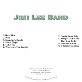 Jimi Lee Band CD | Music | Blues