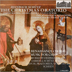 Schütz: The Christmas Oratorio (1664); Renaissance Choral Christmas Music | Music | Classical