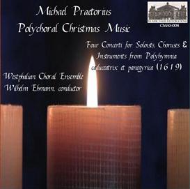 Michael Praetorius: Polychoral Christmas Music  - Westphalian Choral Ensemble - Wilhelm Ehmann, conductor | Music | Classical