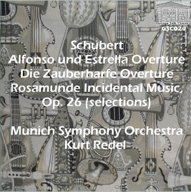 """rosamunde"" incidental music selections - munich symphony orchestra/kurt redel"