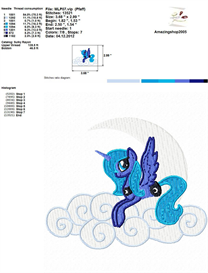 My Little Pony - Embroidery Design | Crafting | Sewing | Other