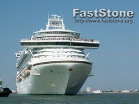 ocean liner digital image