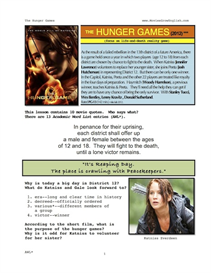 THE HUNGER GAMES, Whole-Movie English (ESL) Lesson | eBooks | Education