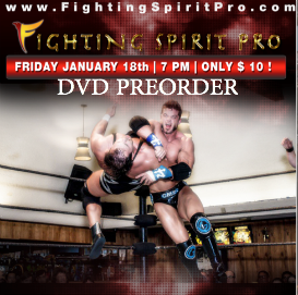 fighting spirit pro dvd preorder jan 18, 2013