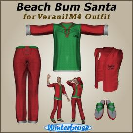 beach bum santa for veranilm4