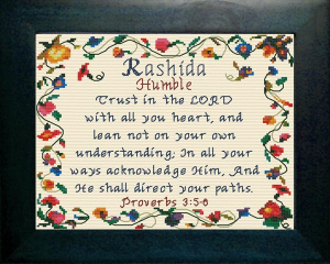 Name Blessings -  Rashida | Crafting | Cross-Stitch | Other