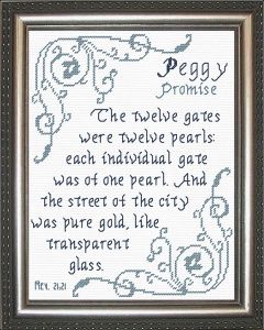 Name Blessings -  Peggy | Crafting | Cross-Stitch | Religious