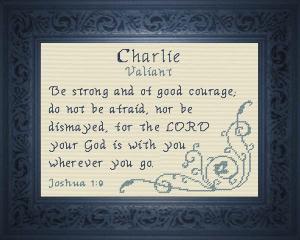 name blessings -  charlie