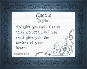 name blessings -  goodie