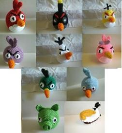 Angry Bird Crochet Patterns