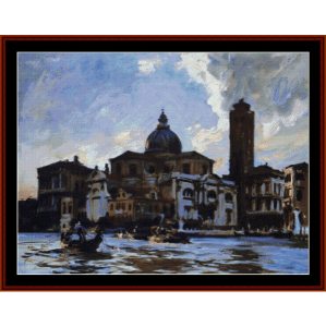 Palazzo Labbia - Sargentcross stitch pattern by Cross Stitch Collectibles | Crafting | Cross-Stitch | Wall Hangings